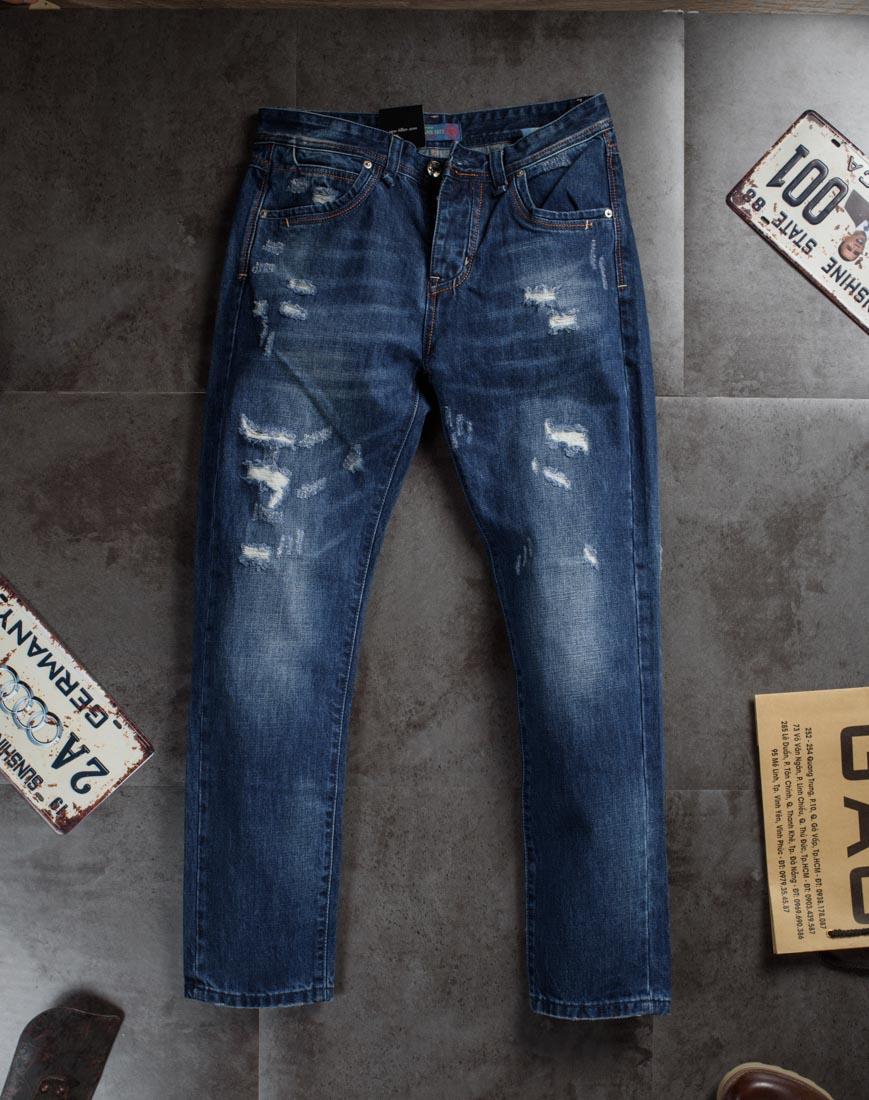 Sơn Tùng M-TP với quần jean nam rách bụi bặm mở màn sự kiện Meet&Greet